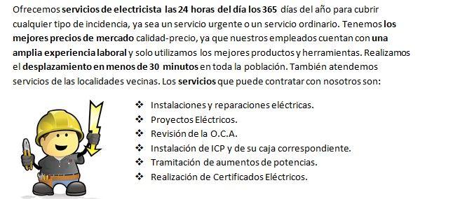 Electricistas Alfacar rapidos