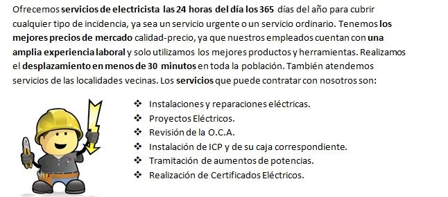 Electricistas Chauchina veloces